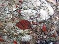 Jasper-quartz pebble conglomerate (Lorrain Formation, Paleoproterozoic, ~2.3 Ga; Ottertail Lake Northeast roadcut, near Bruce Mines, Ontario, Canada) 51 (47656501012).jpg