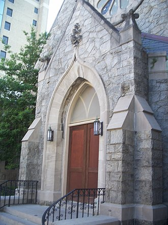 Snyder Memorial Methodist Episcopal Church - Snyder Methodist Church