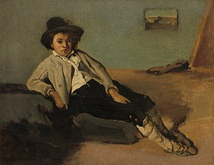 Jeune Paysan italien