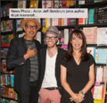 Jeff Goldblum, Kliph Nesteroff, and Illeana Douglas attend a book event in Hollywood.png