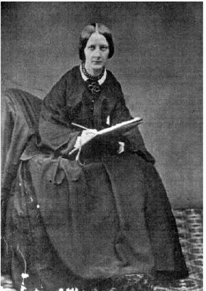 Jemima Blackburn - Photograph by Alinari of Florence (1852)