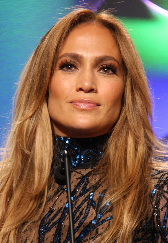 Jennifer Lopez at GLAAD Media Awards (cropped)