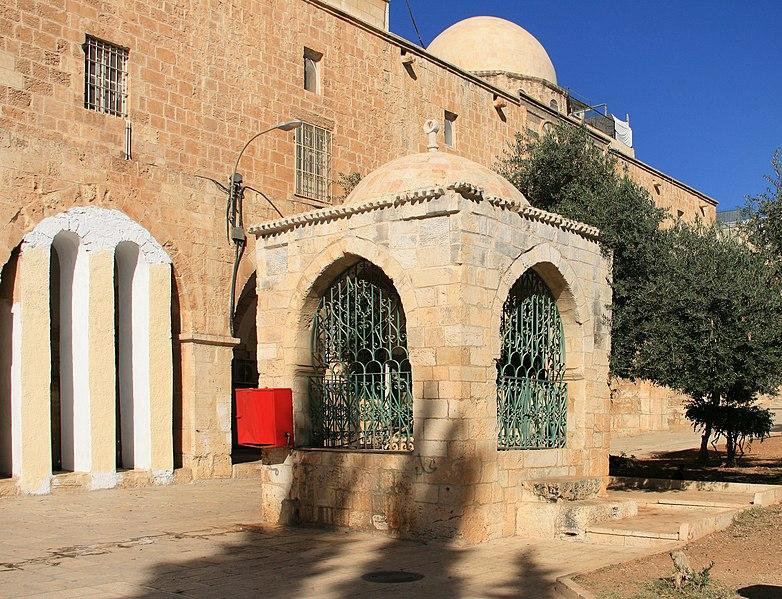 Tempelberg Jerusalem - Sebil Ibrahim Ar-Rumi - vergrößerbar