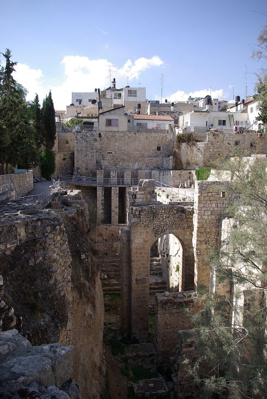 Jerusalem Bethesda BW 1