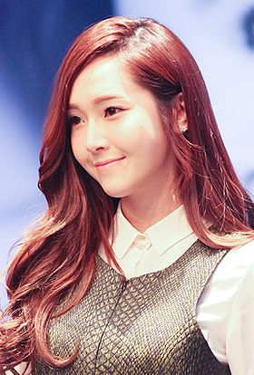 Jessica at a fansigning event, 1 December 2013 02.jpg