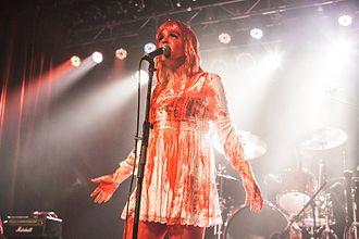Jack Off Jill - Photo of Jessicka at Jack Off Jill 's reunion show at The Orange Peel Asheville NC. July 18, 2015