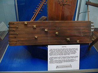 Shagai - The jetigen, a Kazakh national musical instrument, uses asyk to set the notes of the strings.