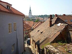 Jewish quarter (diaspora) - Jewish Quarter of Třebíč, Czech Republic.