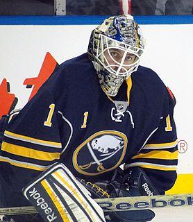 Jhonas Enroth Swedish ice hockey player