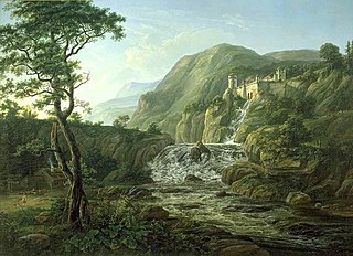 Mountain Landscape with a Castle