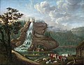 Johan Christian Dahl - Nordic Landscape with a Waterfall - NG.M.00512 - National Museum of Art, Architecture and Design.jpg