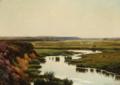 Johan Ulrik Bredsdorff - Landskab med græssende får - 1903.png