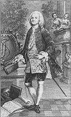J. F. Schönemann, Stich aus dem 18. Jahrhundert (Quelle: Wikimedia)