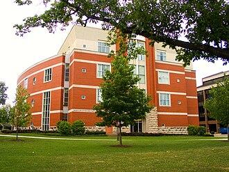 Marshall University - Marshall University's John Deaver Drinko Library, which opened in 1998.