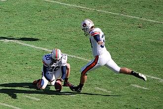 John Vaughn - Vaughn kicks the Cotton Bowl Classic game-winning field goal.