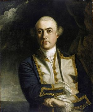 History of the Falkland Islands - John Byron, by Joshua Reynolds, 1759.