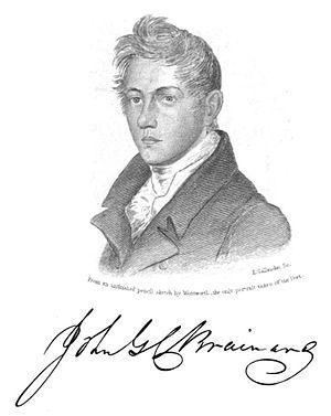 John Gardiner Calkins Brainard - John Gardiner Calkins Brainard
