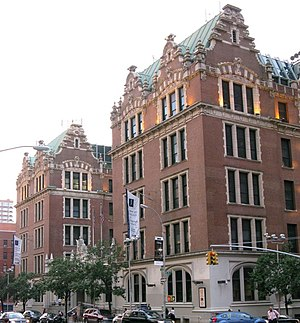 DeWitt Clinton High School - Haaren Hall in 2008