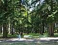 John Luby Park benches - Portland, Oregon.JPG