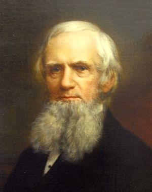 John Russell Bartlett - Portrait of Bartlett by John Sullivan Lincoln