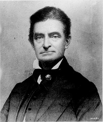 History of Kansas - John Brown about. 1856.
