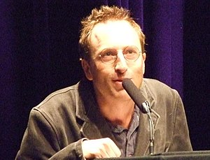 English: Jon Ronson speaking at TAM London Oct...