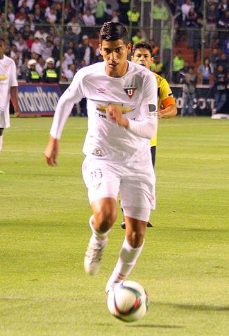 José Cevallos Enríquez - Cevallos with L.D.U. Quito in 2015