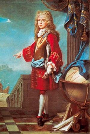Joseph Ferdinand of Bavaria - Josef Ferdinand by Joseph Vivien in 1698