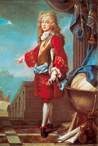 Treaty of The Hague (1698) - Joseph Ferdinand of Bavaria, heir to the Spanish throne (1692-1699)