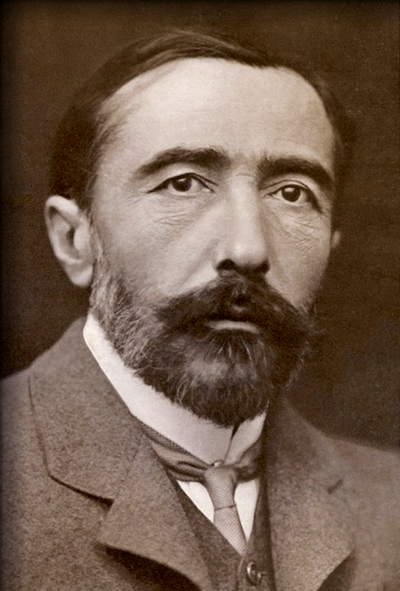 Picture of an author: Joseph Conrad