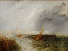 Turner Ville De Urech Prenant La Mer