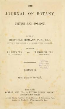 Journal of botany, British and foreign, Volume 9 (1871).djvu