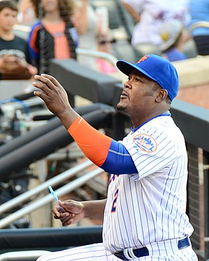 Juan Uribe - Uribe on July 25, 2015, one day after trade