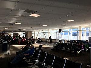 Juneau International Airport - The main passenger terminal at Juneau International Airport