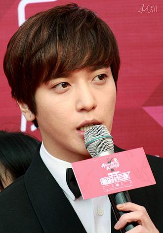 Jung Yong-hwa - Jung on the red carpet at the 15th Yinyue Fengyun Bang Awards on April 13, 2015