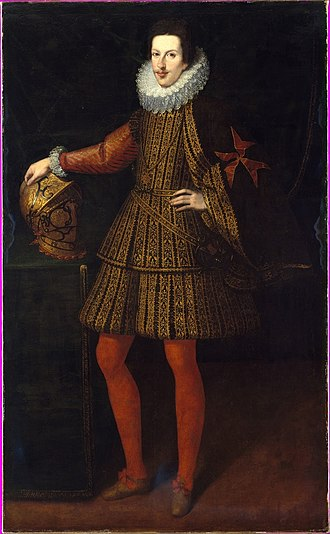 Cosimo II de' Medici, Grand Duke of Tuscany - Cosimo II after Justus Sustermans