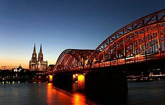 Cologne Bonn Region - Image: Kölner Rhein