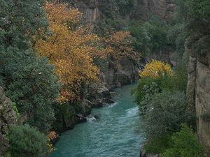 Mediterranean Region, Turkey - Image: Köprülü Kanyon