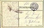 Künstler-Kriegs-Postkarte No. 3 von J. C. König & Ebhardt, Hannover, Heinz Keune, Bismarck-Denkmal Hamburg Adressseite.jpg