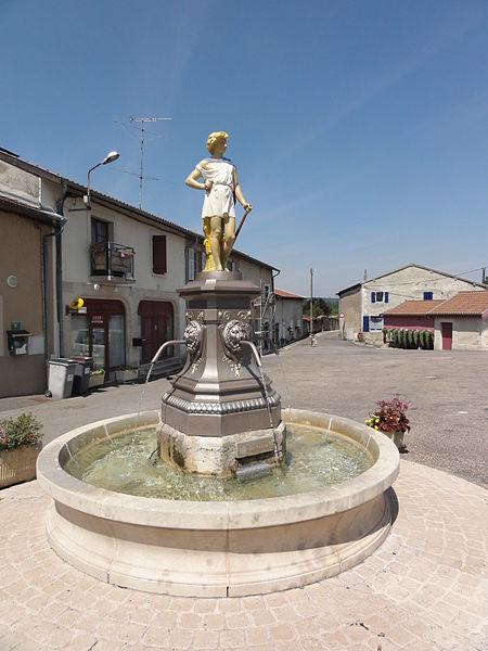 Kœur-la-Petite (Meuse) fontaine