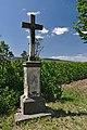 Kříž u silnice do Ratají, Luběnice, okres Olomouc.jpg