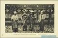 KITLV - 37393 - Demmeni, J. - Tulp, De - Haarlem - Newlyweds in Minangkabau costume at Tilatang on Sumatra's west coast - 1911.tif