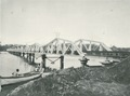KITLV - 80213 - Kleingrothe, C.J. - Medan - Railway bridge over the Belawan, presumably at Belawan in Medan, Sumatra - 1898.tif