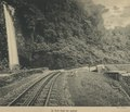 KITLV - 94265 - Demmeni, J. - Cog railway along the waterfall in the Anai Gorge, Sumatra - circa 1915.tif