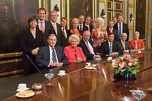 Third Balkenende cabinet - Image: Kabinet Balkenende III