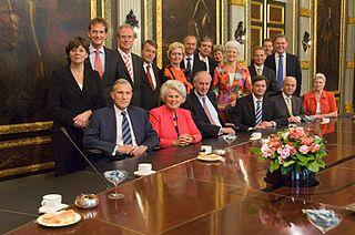 Third Balkenende cabinet cabinet