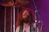 Kadavar (German Psychedelic Rock Band) (Krach Am Bach 2013) IMGP8917 smial wp.jpg
