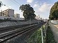 Kagoshima Main Line and Kashii Line near Kyushu Sangyo University 3.jpg
