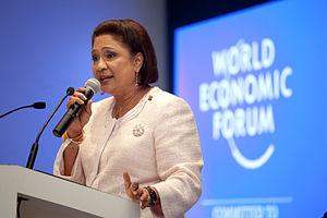 English: Kamla Persad-Bissessar, Prime Ministe...