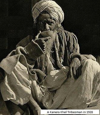 Kunara - A typical Kanera Tribesman in 1928
